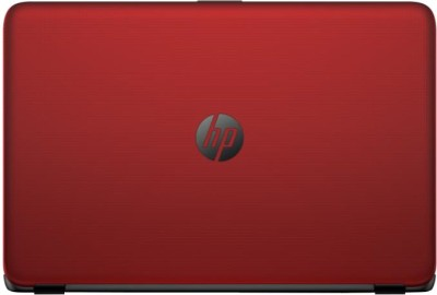 HP 15-ac035TX (NotebooK) (Core i5 (5th Gen)/ 4GB/ 1TB/ Win8.1/ 2GB Graph) (M9V15PA) (15.6 inch, Flyer Red Color With Diamond & Cross Brush Pattern)
