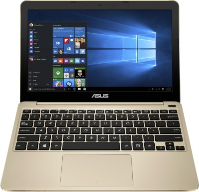 Asus EeeBook E200HA-FD0006TS Intel Atom Quad Core - (2 GB/32 GB EMMC Storage/Windows 10) Notebook 90NL0073-M00690 (11.6 inch, Gold, 0.98 kg)