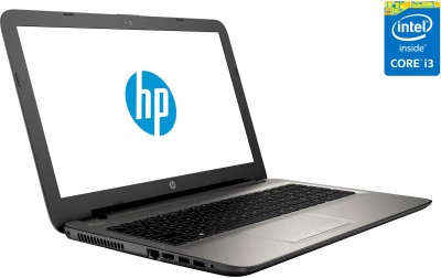 HP 15-ac101TU N4G35PA Core i3 (5th Gen) - (4 GB DDR3/1 TB HDD/Windows 10) Notebook (15.6 inch, Turbo SIlver Color With Diamond & Cross Brush Pattern)