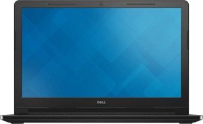 Dell Inspiron 3000 3558 Intel Core i5 (5th Gen) - (4 GB/1 TB HDD/Ubuntu/2 GB Graphics) Notebook Z565109UIN9 (15.6 inch, Black)