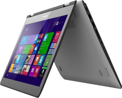Lenovo Yoga 500 80N40046IN 5th Gen - (8 GB DDR3/1 TB HDD/Windows 8/2 GB Graphics) 2 in 1 Laptop (14 inch, White)