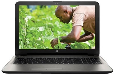 View HP 15-AC122TU AC C04779457 N8M18PA core i3 (5th Gen) - (4 GB DDR3/1 TB HDD/Free DOS/128 MB Graphics) Notebook Laptop