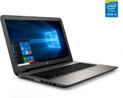 HP 15-ac126TX N8M31PA#ACJ Intel Core i5 Mobile Processor - (8 GB DDR3/1 TB HDD/Windows 10/2 GB Graphics) Notebook (15.6 inch, Turbo SIlver With Diamond & Cross Brush Pattern)