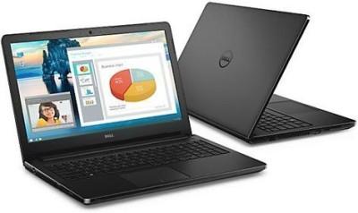 Dell Vostro 15 VOSTRO 3000 3558 DV3558 I3 4th Generation - (4 GB DDR3/1 TB HDD/No OS/2 GB Graphics) Notebook (15.6 inch, Black)
