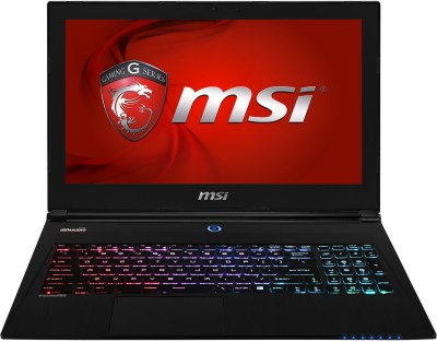 MSI GS60 2PL Ghost Notebook (4th Gen Ci7/ 8GB/ 1TB/ Win8.1/ 2GB Graph) (15.6 inch, Black Aluminum)