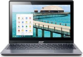 Acer C 720 P-29554G03aii Celeron Dual Core (4th Gen) - (2 GB DDR3/32 GB HDD/Chrome OS) Chromebook (11.6 Inch, Grey)