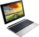 Acer S1001 2 In 1 (Atom Quad Core/ 1GB/ 500GB/ Win8.1/ Touch) (NT.MUPSI.003) (10 Inch, SIlver)