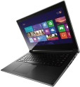 Lenovo Ideapad Flex 14 (59-395516) Laptop (4th Gen Ci3/ 4GB/ 500GB 8GB SSD/ Win8/ Touch) - Black With Silver Ring