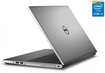 Dell Inspiron 5000 5558 5558i581t4gbW8SilM Core i5 - (8 GB DDR3/1 TB HDD/Windows 8.1/4 GB Graphics) Notebook (15.6 inch, SIlver Matt)