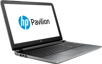 HP 15-AB125AX P6M13PA#ACJ APU Quad Core A10 - (8 GB DDR3/1 TB HDD/Windows 10/2 GB Graphics) Notebook (15.6 inch, Natural SIlver)