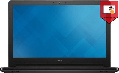 Dell Inspiron 15 5558 555834500iBT Core i3 (5th Gen) - (4 GB DDR3/500 GB HDD/Windows 8.1) Notebook (15.6 inch, Black)