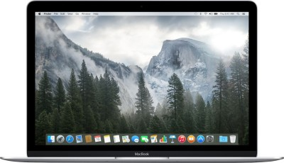 Apple MacBook MF855HN/A (Notebook) (CPU Core M-5Y10/ 8GB/ 256GB/ Mac OS X Yosemite) (12 inch, SIlver)