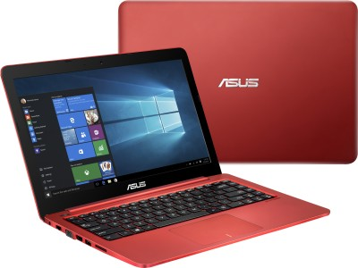 Asus Eeebook E402MA-WX0062T 90NL0031-M02720 Celeron Dual Core - (2 GB DDR3/32 GB EMMC HDD/Windows 10) Notebook (14 inch, Red)