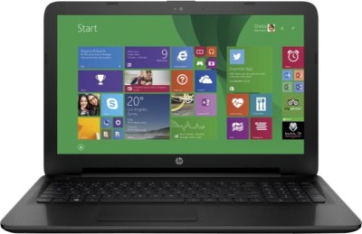 HP 15-ac053TU M9V71PA Pentium Dual Core - (2 GB DDR3/500 GB HDD/Windows 8.1) Notebook (15.59 inch, Jack Black Color With Textured Diamond Pattern)