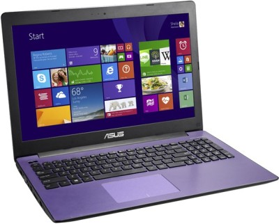 Asus 1147 D N Series A553MA-XX1147D Asus-A553MA-XX1147D PQC 4th Gen - (4 GB DDR3/500 GB HDD/Free DOS) Notebook (15.6 inch, Purple)