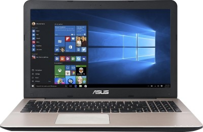 Asus A555LA-XX2384T XX2384T Core i3 (5th Gen) - (4 GB DDR3/1 TB HDD/Windows 10) Notebook (15.6 inch, Glossy Brown)