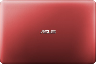 Asus Eeebook X205TA 90NL0734-M07750 Intel Atom Quad Core - (2 GB DDR3/32 GB EMMC HDD/Windows 10) Netbook (11.6 inch, Red)