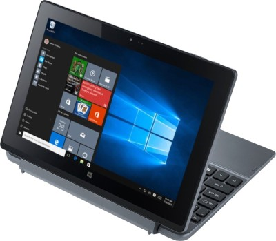 Acer S1002 (Intel Atom Quad Core/ 2GB/ 500GB/ Win10/Touch) (NT.G5CSI.001) 2 in 1 Laptop (10.1 inch, Dark SIlver)