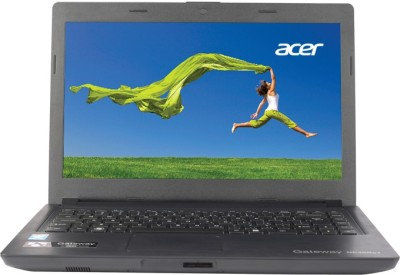 Acer Gateway NE46Rs1 UN.Y52SI.004 Pentium Dual Core - (2 GB DDR3/320 GB HDD/Linux) Notebook (14 inch, Black)
