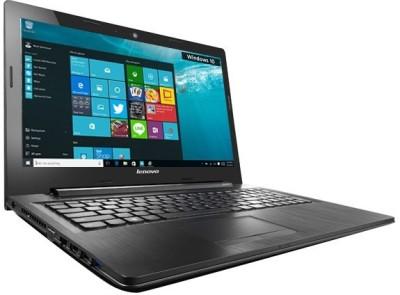 Lenovo AMD G Series G50-80 80E3022BIH APU Dual Core E1 - (4 GB DDR3/500 GB HDD/Windows 10) Notebook (15.6 inch, Black)