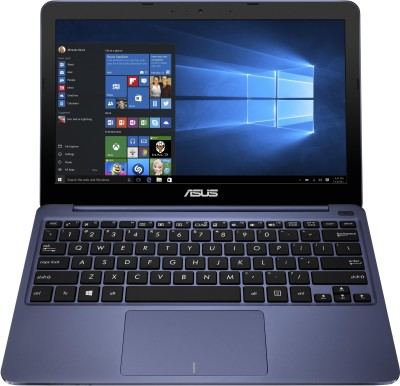 Asus EeeBook E200HA-FD0004TS Intel Atom Quad Core - (2 GB/32 GB EMMC Storage/Windows 10) Notebook 90NL0072-M00610 (11.6 inch, Dark Blue, 0.98 kg)
