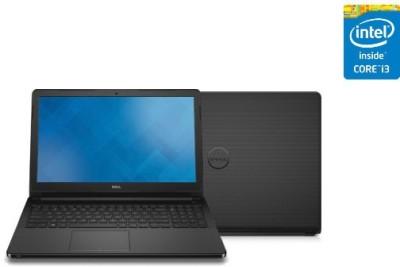 Dell Vostro 15 3000 Series 3558 V3558I34500U i3 4Th - (4 GB DDR3/500 GB HDD/Ubuntu) Notebook (15.6 inch, Black)