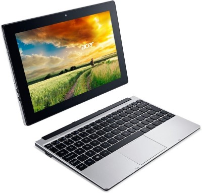 Acer One 10 S1001-19p0 NT.G86SI.002 Intel Atom Quad Core - (2 GB DDR3/32 GB EMMC HDD/Windows 10) 2 in 1 Laptop