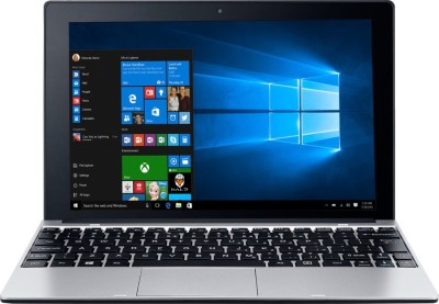 Acer One 10 S1001-19p0 NT.G86SI.002 Intel Atom Quad Core - (2 GB DDR3/32 GB EMMC HDD/Windows 10) 2 in 1 Laptop (10 inch, SIlver)
