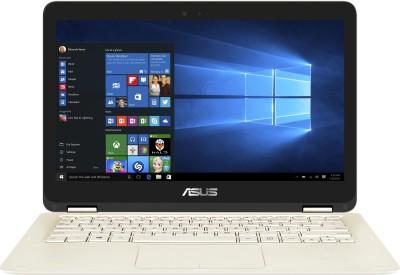 Asus ZenBook UX360CA-C4089T Intel Core M (6th Gen) - (4 GB/512 GB SSD/Windows 10) Notebook 90NB0BA1-M01980 (13.3 inch, Gold, 1.30 kg)