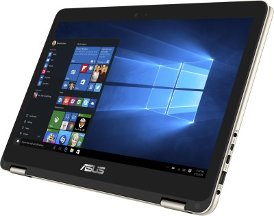Asus ZenBook UX360CA-C4089T Intel Core M (6th Gen) - (4 GB/512 GB SSD/Windows 10) Notebook 90NB0BA1-M01980 (13.3 inch, Gold, 1.30 kg)