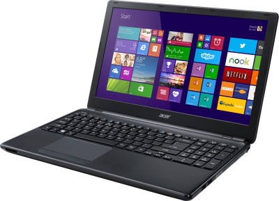 Acer Aspire E E1 510 Notebook 1st Gen PQC/ 2GB/ 500GB/ Win8.1 NX.MGRSI.006 Black available at Flipkart for Rs.24990