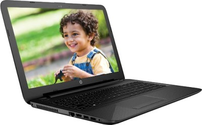 HP 15-ac173TU P6M78PA Pentium Dual Core - (4 GB DDR3/1 TB HDD/Windows 10) Notebook (15.6 inch, Jack Black Color With Textured Diamond Pattern)