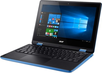 Acer Aspire R11 R3-131T-p4aa NX.G0YSI.001 Pentium Quad Core - (4 GB DDR3/500 GB HDD/Windows 10) 2 in 1 Laptop (11.6 inch, SKy Blue)