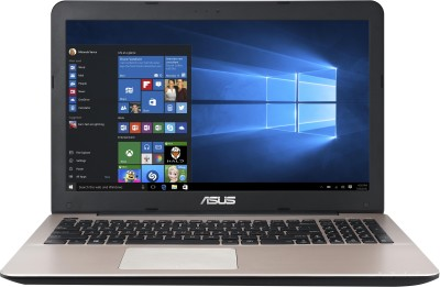 Asus A555LF-XX149T 90NB08H1-M02930 Core i5 (5th Gen) - (4 GB DDR3/1 TB HDD/Windows 10/2 GB Graphics) Notebook (15.6 inch, Dark Brown & SIlver)