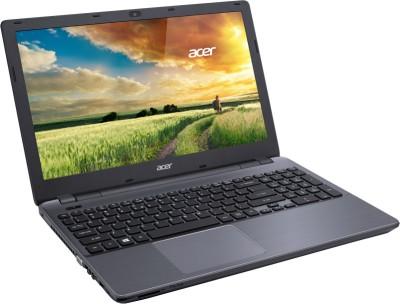 Acer Aspire E5-571 Notebook (4th Gen Ci3/ 4GB/ 1TB/ Linux) (NX.MLTSI.003) (15.6 inch, Titanium SIlver, 2.5 kg)