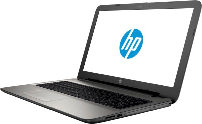 HP 15-af008AX N4F83PA#ACJ APU Quad Core A8 - (4 GB DDR3/1 TB HDD/Free DOS/2 GB Graphics) Notebook (15.6 inch, Turbo SIlver Color With Diamond & Cross Brush Pattern)