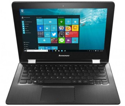 Lenovo Yoga 300 80M0007KIN Pentium Quad Core - (4 GB DDR3/500 GB HDD/Windows 10 Home) 2 in 1 Laptop