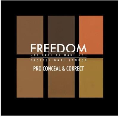 Freedom Makeup London Pro Conceal Palette Dark