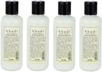 Khadi Herbal Green Tea Aloe Vera Hair Conditioner Pack Of 4 (840 Ml)