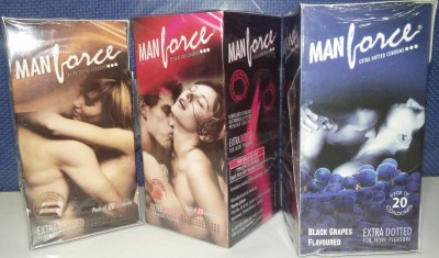Manforce Best Selling Pack Condom Set of 3, 20S