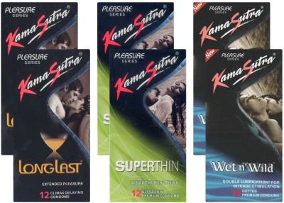Kamasutra Longlast, Superthin, Wet n Wild UPFK200151