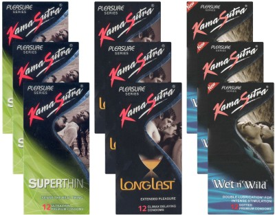 Kamasutra Superthin, Longlast, Wet n Wild UPFK200342
