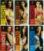 Skore Banana, Chocolate, Orange, Strawberry, Notout, Blue
