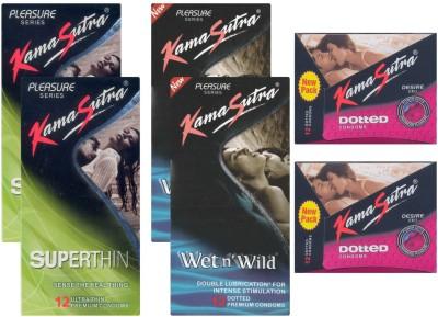 Kamasutra Superthin, Wet n Wild, Dotted UPFK200077