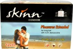 Skinn With Benzocaine Pleasure Condoms Apple Flavoured 12 Combo pack