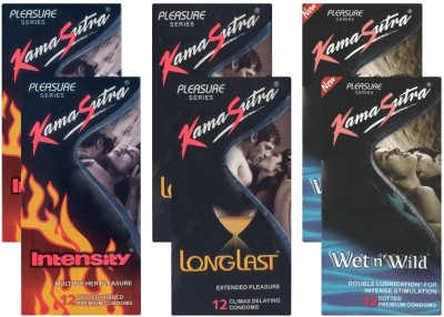 Kamasutra Intensity, Longlast, Wet n Wild UPFK200127