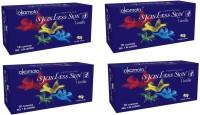 Okamoto Skinless Skin - Vanilla Dotted Condom (Set Of 4, 40S)