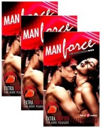Manforce Extra Dotted Strawberry Flavor condoms 30s