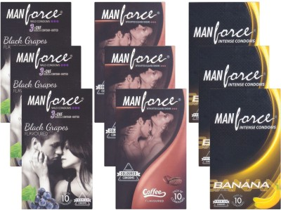 Manforce BlackGrape, Coffee, Banana CPFK2196