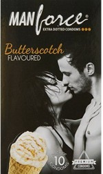 Manforce BUTTERSCOTCH FLAVOUR 10'S PACK X 10
